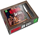 Männer am Grill - Das Buch, das Mann braucht!: im Set: Buch + hochwertiges Messer