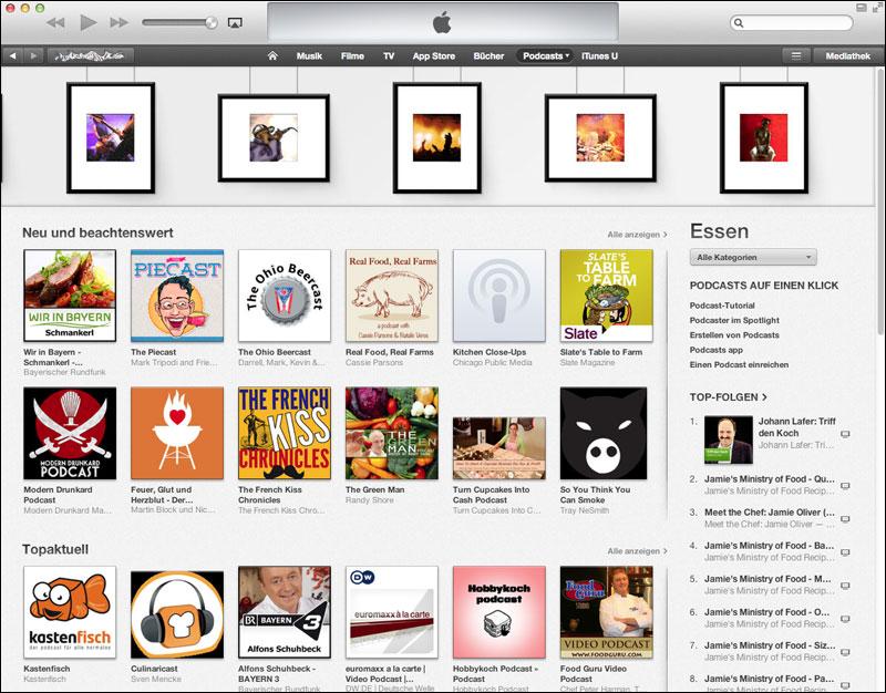 iTunes - Neu und beachtenswert
