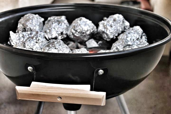 Grillfest, Kartoffeln