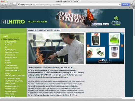 RTL NITRO - Helden am Grill