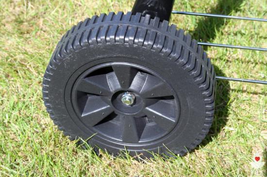 Tchibo XL-Kugelgrill - Räder