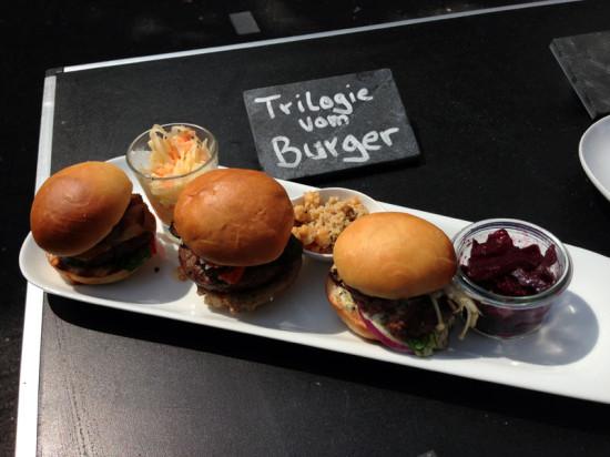Trilogie vom Burger