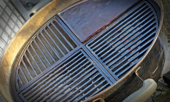 """Cast Iron Grate"" Gussrost"