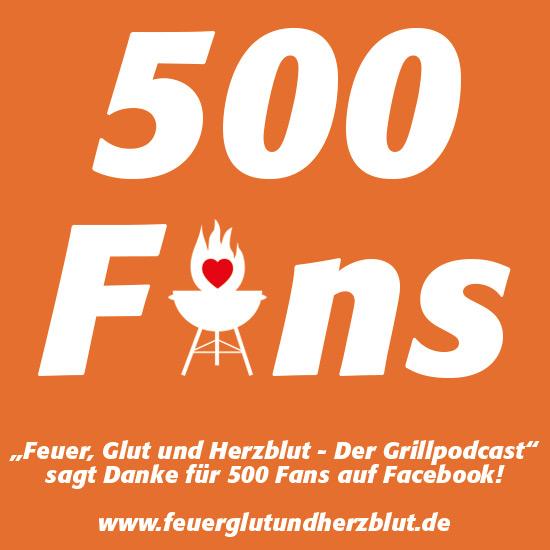 500 Fans auf Facebook