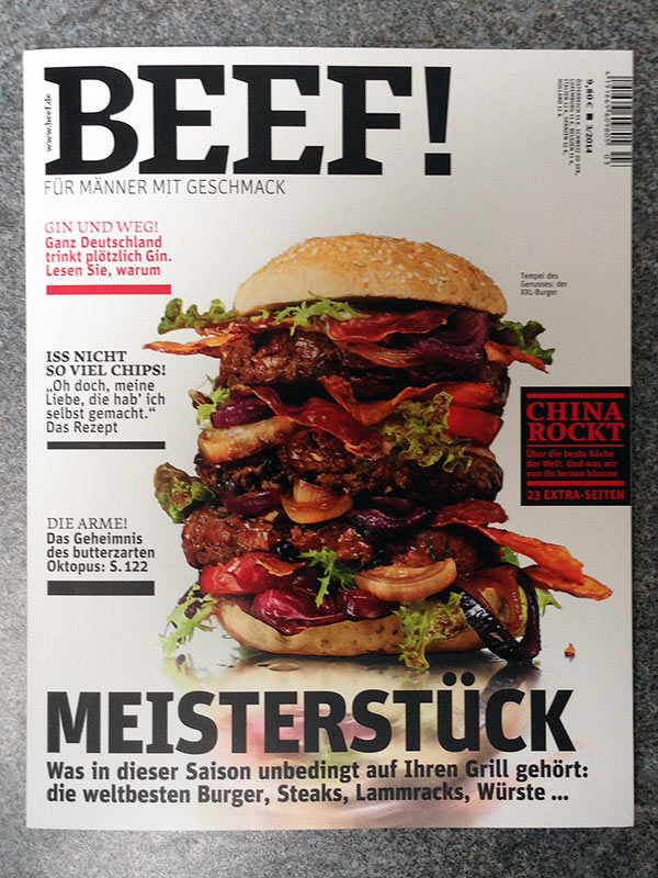 Beef! Cover Ausgabe 03/2014