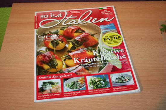 """Zeitschrift """"So isst Italien"""""""