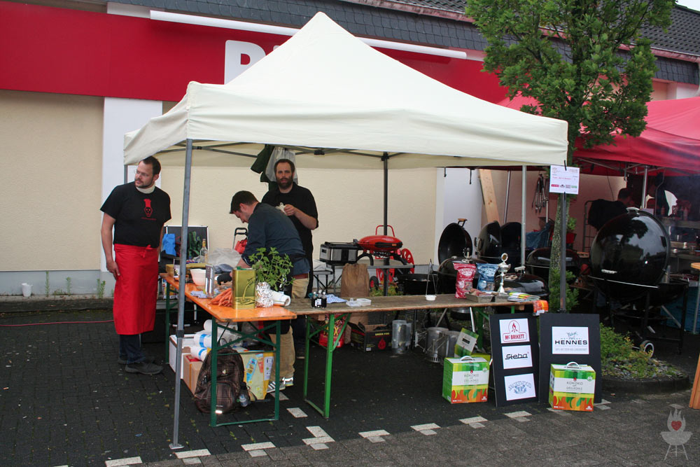 Bergisch BBQ 2014 Stand