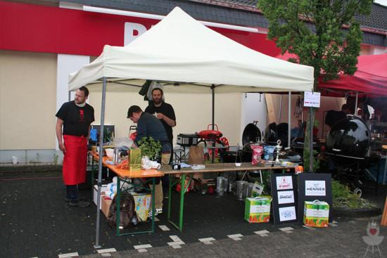 Bergisch BBQ2014 Stand