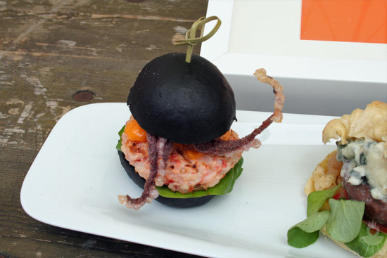 Bergisch BBQ2014 Oktopus-Burger
