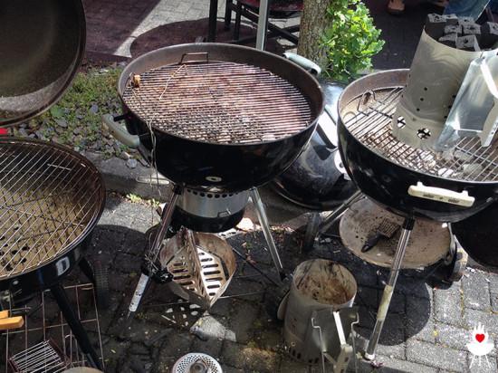 KOKOKO und die drei Grills