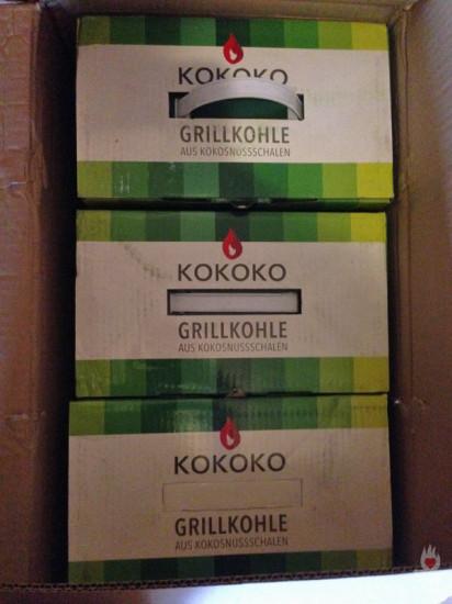 KOKOKO-Verpackung