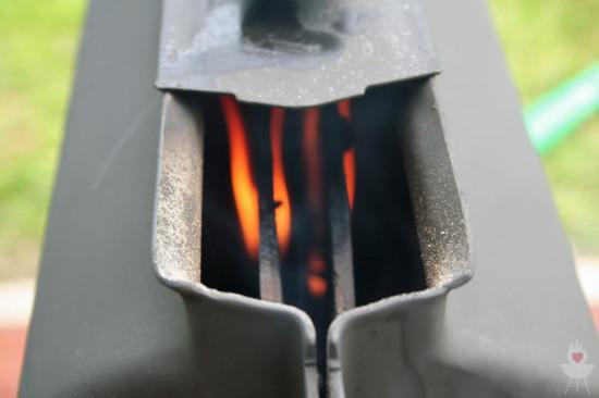 Son of Hibachi / MyGrill sauber brennen