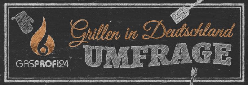 Umfrage - Grillen in Deutschland