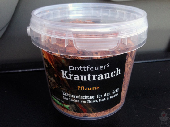 Pottfeuers Krautrauch Pflaume