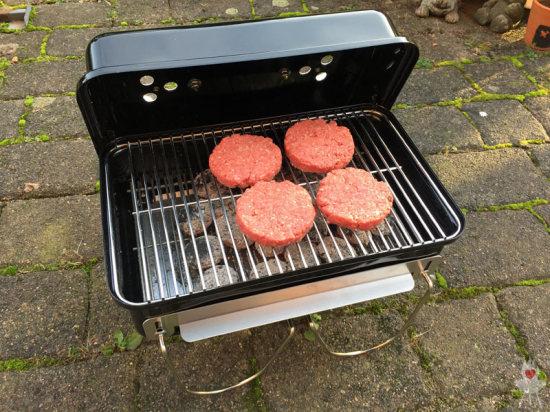 Weber Go-Anywhere Burgerfleisch
