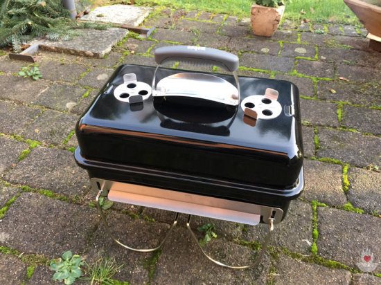 Weber Go-Anywhere Indirektes Grillen