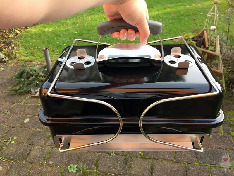 Weber Elektrogrill Anleitung : Weber grill go anywhere holzkohle test u203a feuer glut und herzblut