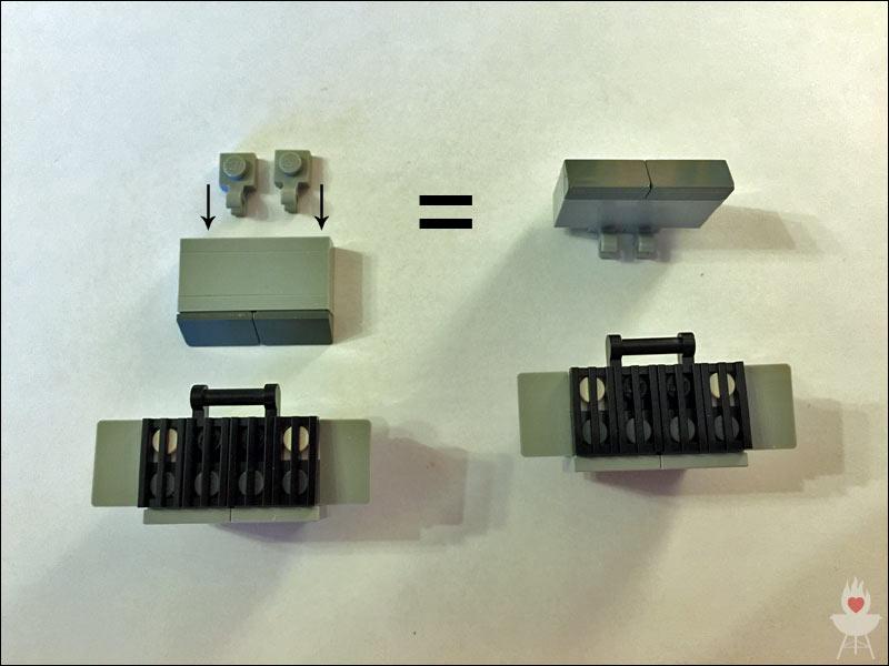 Lego-Grill Bauschritt 8