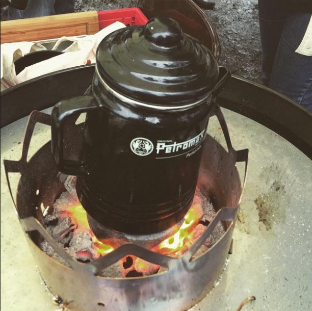 Petromax-Kaffee