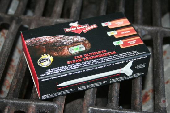 Steakchamp Thermometer Verpackung