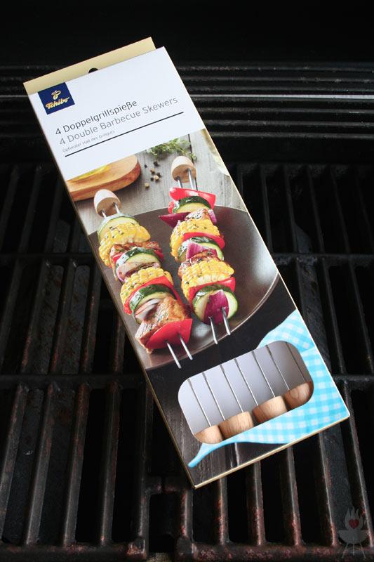 Doppelgrillspieße Tchibo Grillzubehör 2015 Verpackung