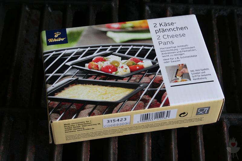 Käsepfännchen Tchibo Grillzubehör 2015 Verpackung