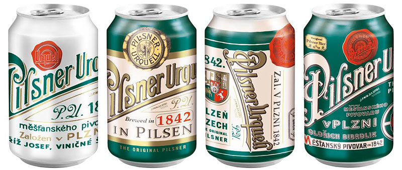 Pilsner Urquell Retrodosen 2015