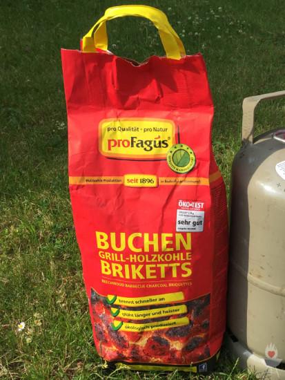 Profagus Buchen Grill-Holzkohle-Briketts