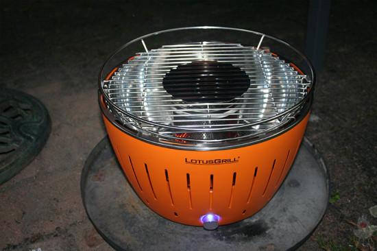 LotusGrill fertig zum grillen 20