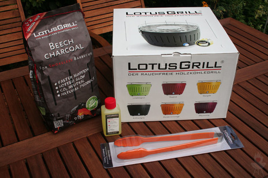 Lotusgrill Sortiment