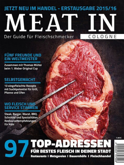 Meat In Cover Erstausgabe