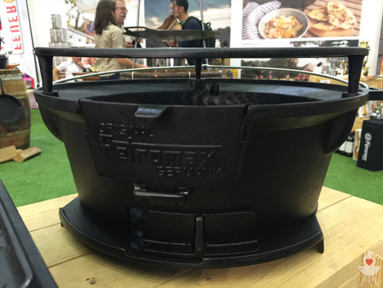 Petromax Gusseiserner Grill