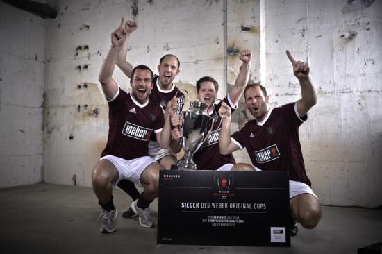 Das Gewinnerteam Weber Original Cup