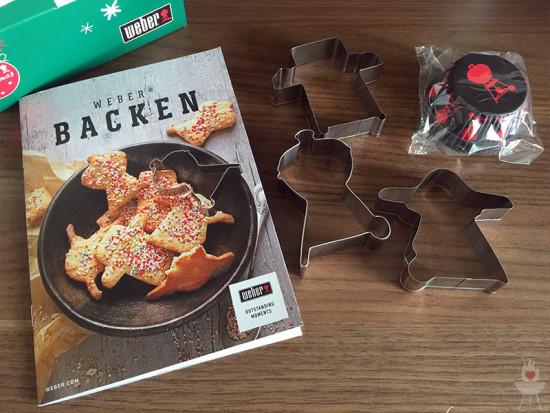 Weber Keksausstecher Inhalt ausgepackt