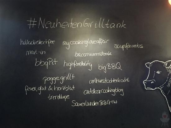 Weber NeuheitenGrilltank-Teilnehmer