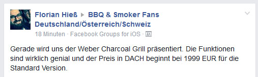 Charcoal Grill Preis