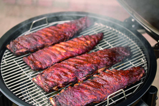 Weber Summit Charcoal Grill Ribs