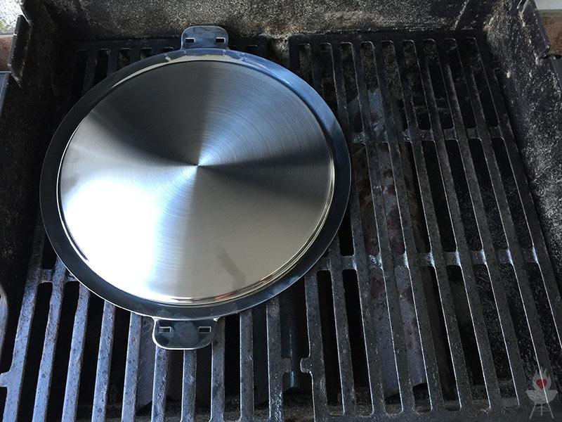 Plancha Elektrogrill Test : Edelstahl plancha von steakchamp im test u a feuer glut und herzblut
