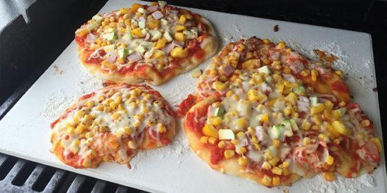 Pizza vom Grill Artikelbild