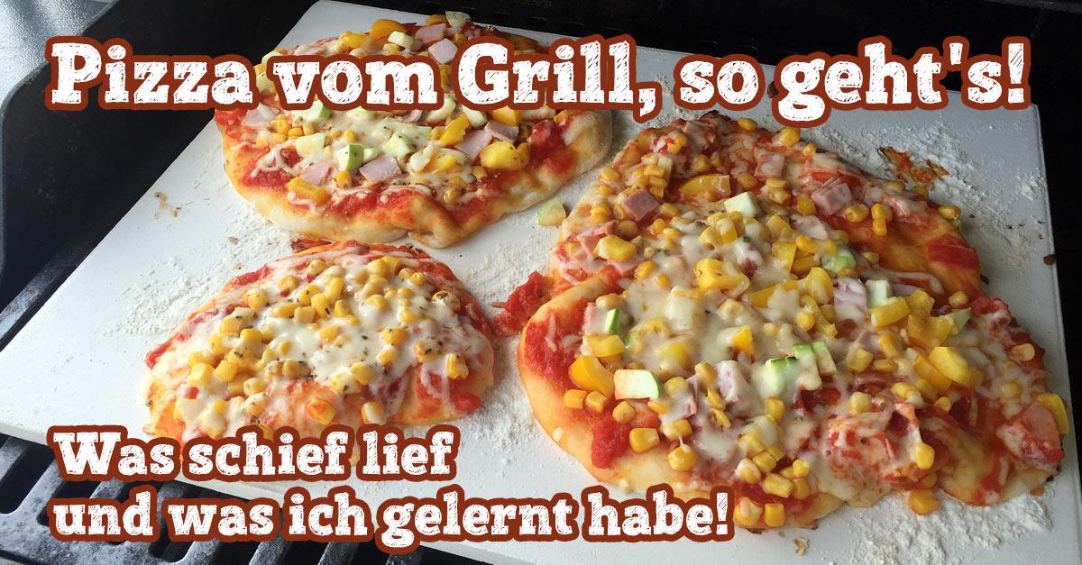 Weber Elektrogrill Pizza Backen : Pizza vom grill so gehts! was schief lief und was ich gelernt habe