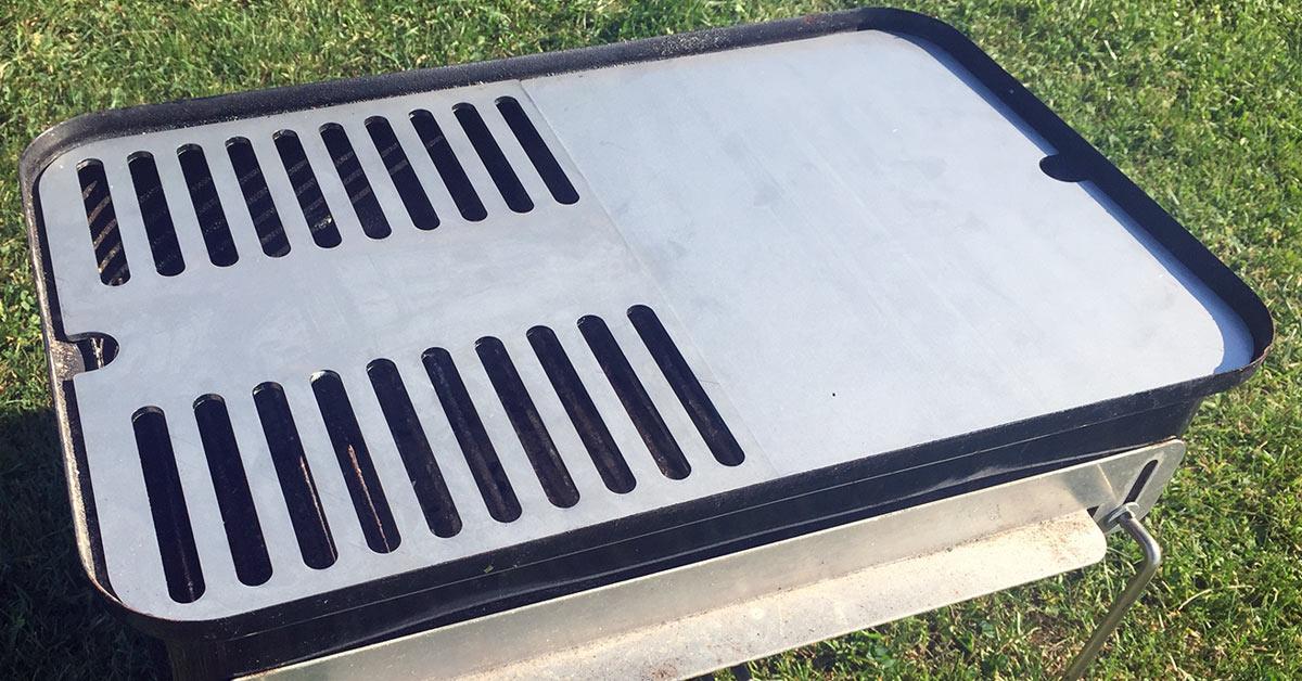 Weber Elektrogrill Vor Dem Ersten Gebrauch : Edelstahl grillrost für weber go anywhere von grillrost