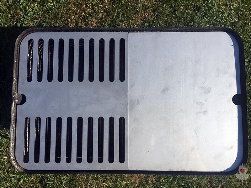Weber Elektrogrill Rost Spülmaschine : Edelstahl grillrost für weber go anywhere von grillrost