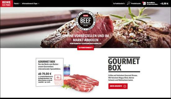 BEEF by REWE Online Fleischversand Shop