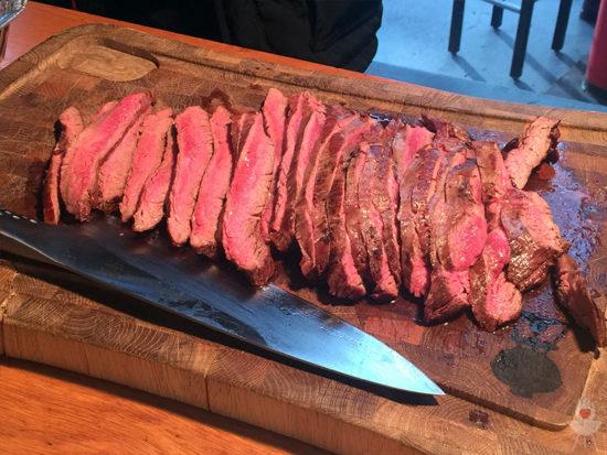 Fleisch geschnitten Genesis II Praxistest