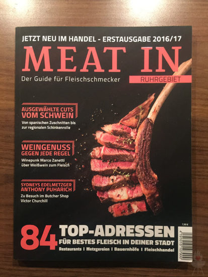 MEAT IN Ruhrgebiet Cover