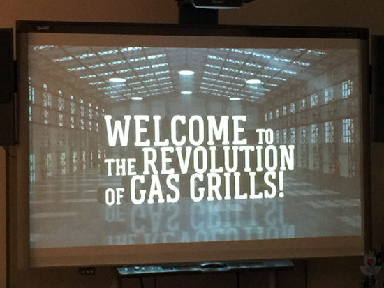 Welcome to the revolution of gas grills