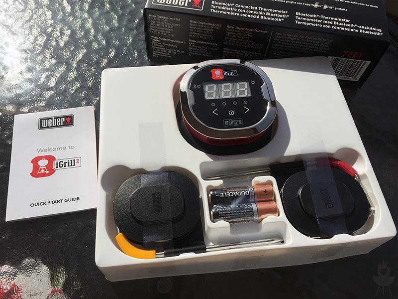 Weber Elektrogrill Mit Temperaturanzeige : Igrill2 bluetooth thermometer im test u203a feuer glut und herzblut