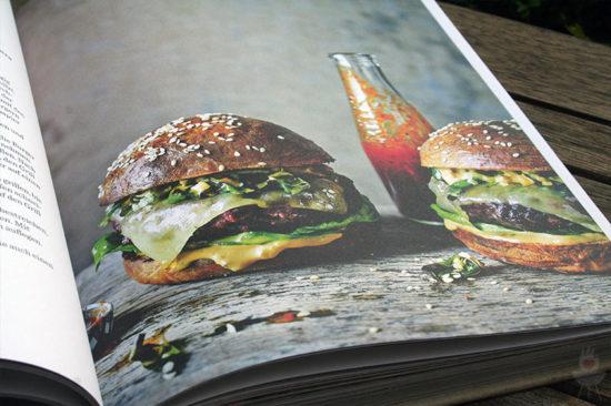 Buch Fire & Smoke Burgerfoto