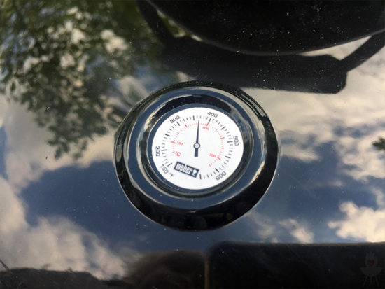Weber Spielzeuggrill Thermometer