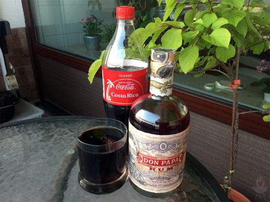 Don Papa Rum Cola